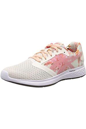 Asics Women's Patriot 10 Sp Running Shoes, (Cream/Papaya 101)
