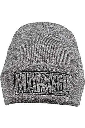 Marvel Men's LINE Logo Beanie