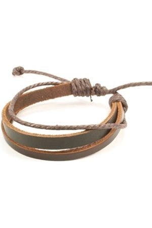 cored Q403 Surfer Bracelet Leather Adjustable Size