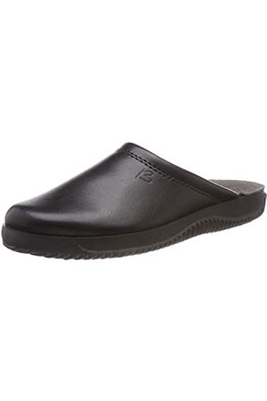 Beck Men's Nicklas Open Back Slippers, (Schwarz 02)