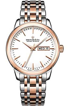 Dreyfuss Mens Analogue Classic Quartz Watch with Stainless Steel Strap DGB00127/02