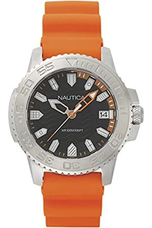 Nautica Men's Analog Japanese-Quartz Watch with Silicone Strap NAPKYW002