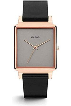 Komono Unisex Adult Analogue Quartz Watch with Leather Strap KOM-W4206