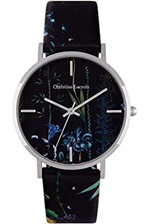 Christian Lacroix Womens Quartz Watch with Leather Strap CLFS1809