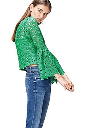 find. Women's Cropped Chemical Lace Blouse