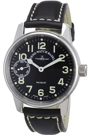Zeno Men's Automatic Watch Classic Pilot 6558-9-a1 with Leather Strap