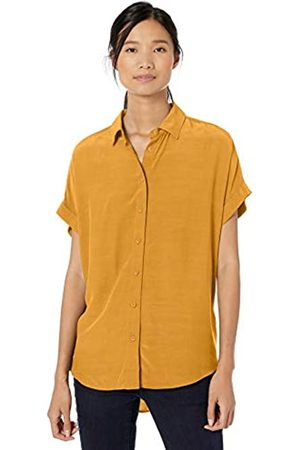 Goodthreads Viscose Short-sleeve Shirt Harvest