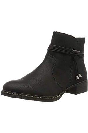 Rieker Women's Herbst/Winter Ankle Boots, (Schwarz / 00 00)
