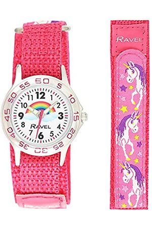 Ravel Girls Analogue Classic Quartz Watch with Nylon Strap R1507.60