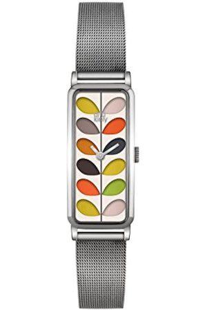 Orla Kiely Womens Analogue Classic Quartz Watch with Stainless Steel Strap OK4049