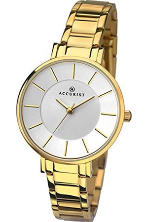 Accurist Womens Analogue Classic Quartz Watch with Stainless Steel Strap 8145