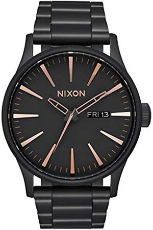 Nixon Mens Analogue Quartz Watch with Stainless Steel Strap A356-957-00