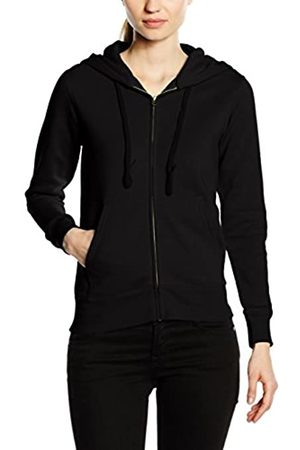 Fruit Of The Loom Women's Zip front Premium Hooded Sweat