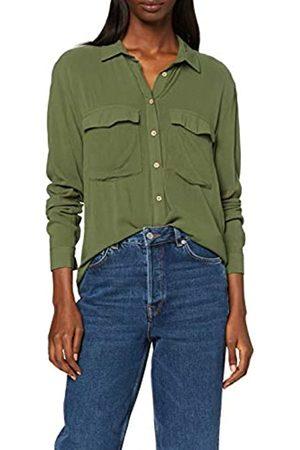 Springfield 4.fq. Bolsillo Plas Formal Shirt Women's 34 (Manufacturer's size:34)