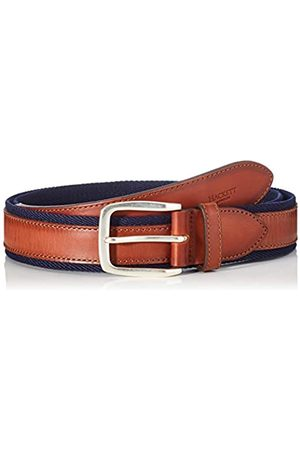 Hackett Hackett Men's Bi Colour Lthr/Web Belt
