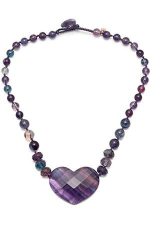 Lola Rose Gisella Rainbow Fluorite Necklace of 44cms