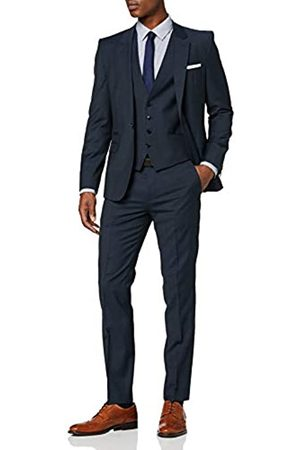 HUGO BOSS Men's Arti/hesten202v1 Suit, (Dark 404)
