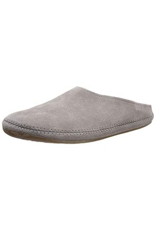 HAFLINGER Unisex Adults' Softino Open Back Slippers, (Graphit 77)