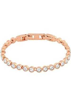 Swarovski Women's Rose-gold tone plated Tennis Bracelet 5039938