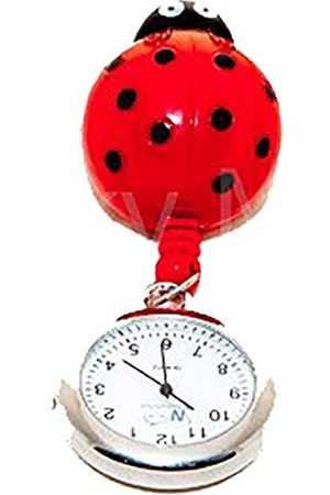 FunkyFobz Ladybird Retractable Pulley Watch Nurse Doctor Midwife HCA