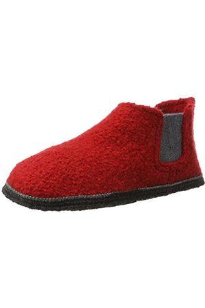 Kitz-pichler Unisex Adults' Hütten Chelsea Hi-Top Slippers red Size: 7.5 UK