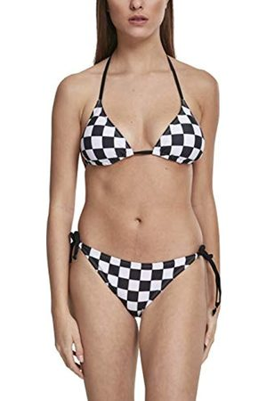 Urban Classics Women Bikinis - Women's Ladies Check Bikini (Chess 01683)