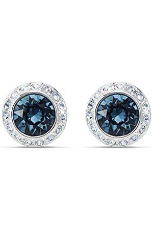 Swarovski Women's Rhodium plated Angelic Stud Pierced Earrings 5536770