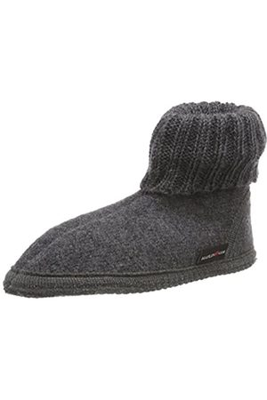 Haflinger Karl, Unisex Adults' Slippers, Grau (Anthrazit 04)
