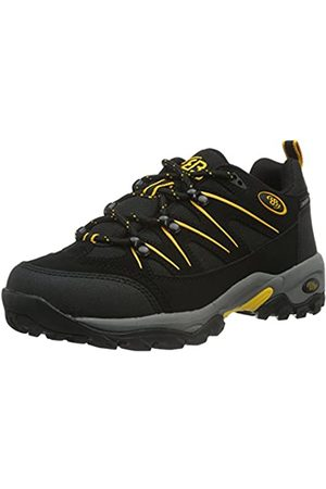 Bruetting Unisex Adults' Mount Hunter Low Rise Hiking Boots, (Schwarz/Gelb Schwarz/Gelb)