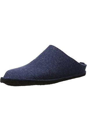 Haflinger Flair Soft, Unisex Adults' Open Back Slippers, Blau (Jeans 72)
