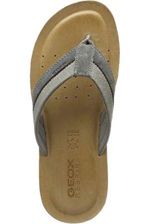 Geox Men's U Artie E Flip Flops, (Stone C9007)