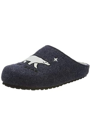 SUPERSOFT Boys' 542 239 Open Back Slippers, (Navy 836)