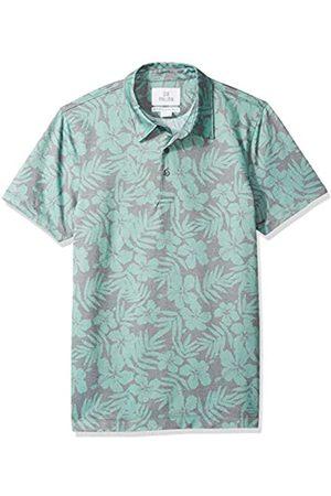 28 Palms Standard-Fit Hawaiian Performance Pique Polo Shirt Floral