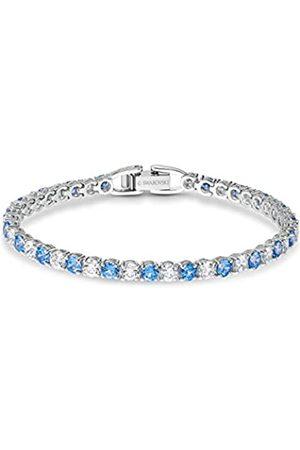 Swarovski Women's Rhodium plated Tennis Deluxe Bracelet 5536469