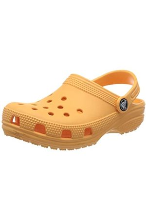 Crocs Kids' Classic Clog, (Cantaloupe 801)