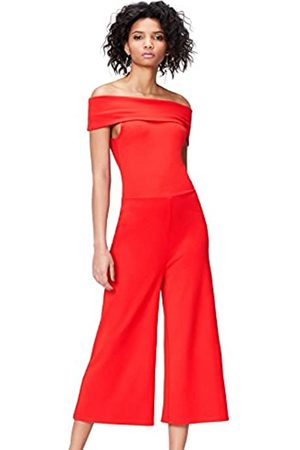 FIND Women's Jumpsuit in Thick Jersey with Bare Shoulder