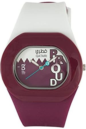 B360 WATCH Unisex Quartz Watch Analogue Display and Silicone Strap B Proud Qatari 1