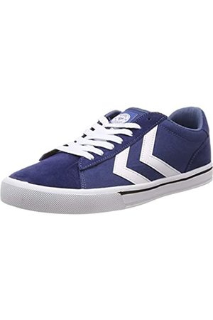 Hummel Unisex Adults' Nile Canvas Low-Top Sneakers, (Vintage Indigo 8588)