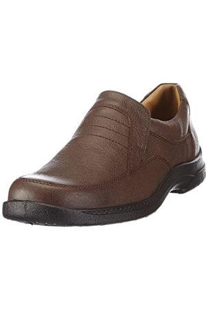 Jomos Men's Feetback Loafers, (Capucino)
