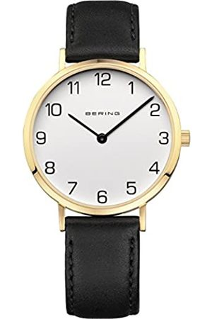 Bering Womens Analogue Quartz Watch with Leather Strap 13934-434