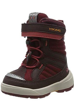 Viking Unisex Kids' Playtime GTX Snow Boots, (Wine/Dark 4152)