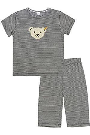 Steiff Girl's 0006533 2Pcs Playsuit Clothing Set, Marine