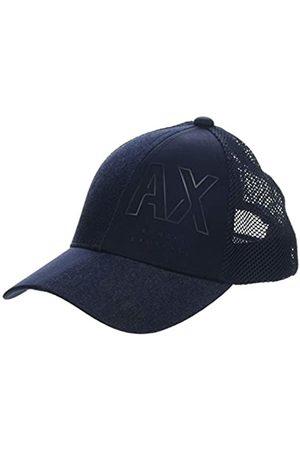 Armani Men's Knitted Logo Baseball Hat Cap
