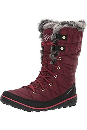 Columbia Women's Heavenly Omni-Heat Winter Boots, (Rich Wine, Dare)