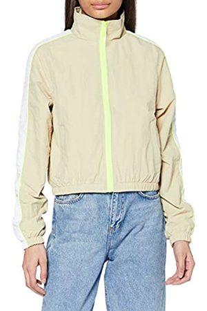 Urban classics Women's Sport Ladies Short Piped Track Jacket Trainings-Jacke