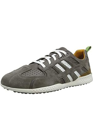 Geox Men's U Snake.2 A Low-Top Sneakers, (Stone/Dark Avio C9mk4)