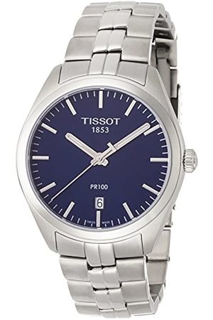 Tissot Mens Analogue Quartz Watch with Stainless Steel Strap T1014101104100