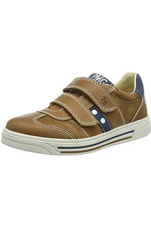 Primigi Boys' PHU 33831 Low-Top Sneakers, (Biscotto/Cuoio 3383100)