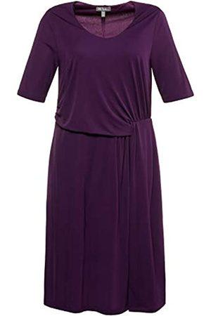Ulla Popken Women's Kleid mit Drapierung Dress