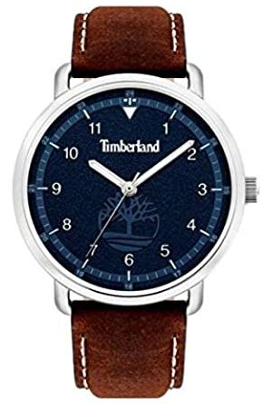 Timberland Unisex Adult Analogue Quartz Watch with Leather Strap TBL.15939JS/03